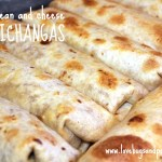 Meat, Bean and Cheese Chimichangas Recipe