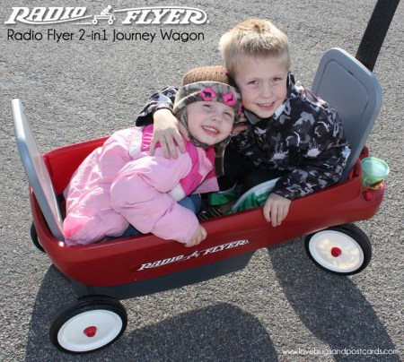Radio Flyer 2-in1 Journey Wagon