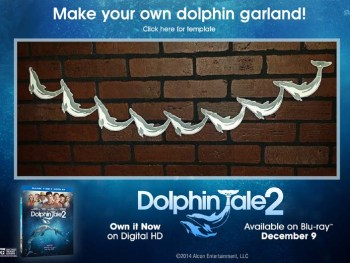 Dolphin Tale 2 Crafts