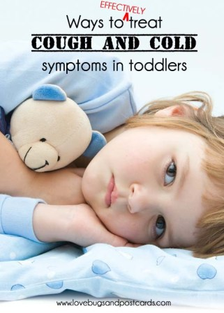 Ways to treat cold and flu symptoms in toddlers