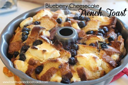 Blueberry Cheesecake French Toast Recipe