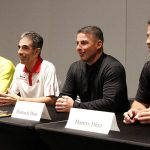 Jim White and the Diaz Brothers for McFarland, USA