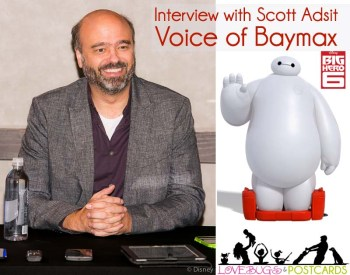 Interview with Scott Adsit - Voice of Baymax - Big Hero 6 #BigHero6Bloggers