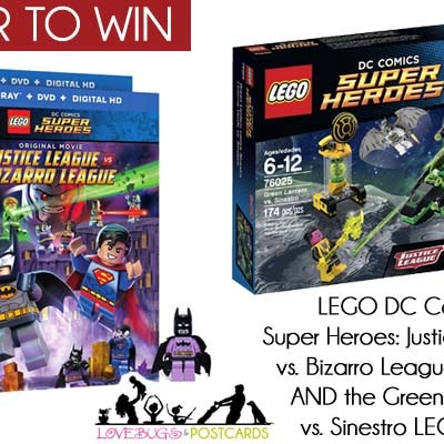 LEGO DC Comics Super Heroes DVD + LEGO Set Giveaway