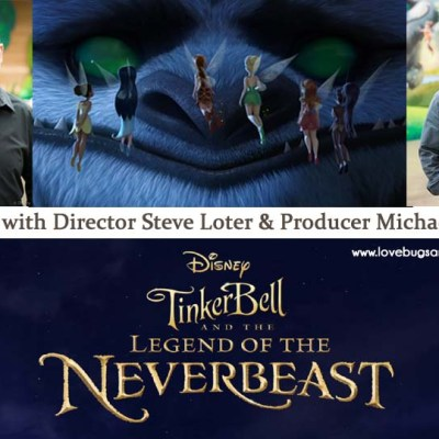 Interview with Director Steve Loter & Producer Michael Wigert {Disney's Tinkerbell and the Legend of the Neverbeast}