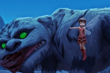 Gruff and Fawn (Ginnifer Goodwin) in Disney's Tinkerbell and the Legend of the Neverbeast