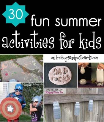 30 fun summer activities for kids