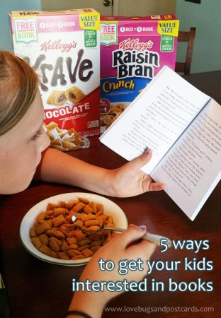 5 ways to get your kids interested in books