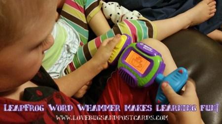 LeapFrog Word Whammer makes learning fun!