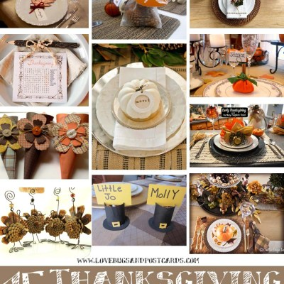 15+ Thanksgiving Table Settings