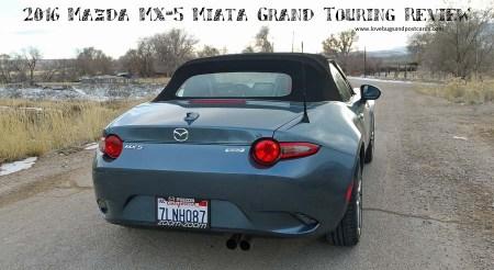 2016 Mazda MX-5 Miata Grand Touring Review
