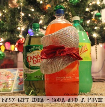 Easy Gift Idea - Soda and a Movie