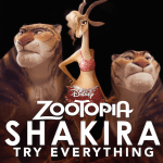 "New music video for Shakira's ""Try Everything"" from Disney's Zootopia #Zootopia"