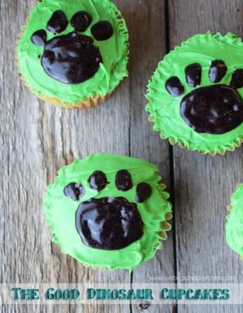 The Good Dinosaur Cupcakes