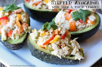 Stuffed Avocados with Tuna Recipe