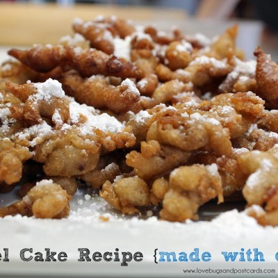 Funnel Cake Recipe {made with cereal}