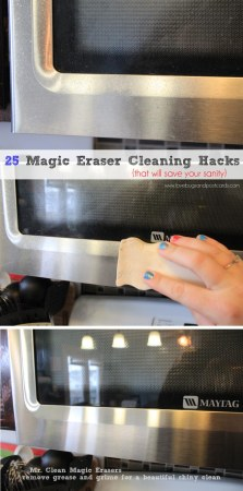 25 Magic Eraser Cleaning Hacks {that will save your sanity}