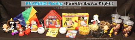 The Peanuts Movie {Family Movie Night Party}