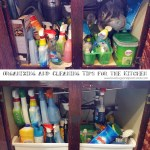 Organizing and Cleaning Tips for the Kitchen