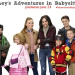"ADVENTURES IN BABYSITTING - Disney Channel's original movie ""Adventures in Babysitting"" stars Nikki Hahn as Emily, Mallory James Mahoney as Katy, Sabrina Carpenter as Jenny, Sofia Carson as Lola, Madison Horcher as AJ, Max Gecowets as Trey and Jet Jurgensmeyer as Bobby. (Disney Channel/Bob D'Amico)"