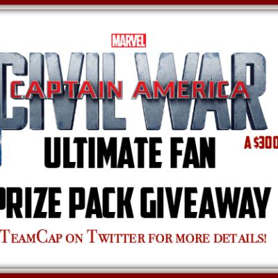 Captain America Event Giveaway #CaptainAmericaEvent #TeamCap