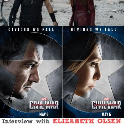 Interview with Jeremy Renner & Elizabeth Olsen #CaptainAmericaCivilWar #CaptainAmericaEvent