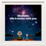 Peanuts Personalized Art Print Giveaway #PeanutsInsiders