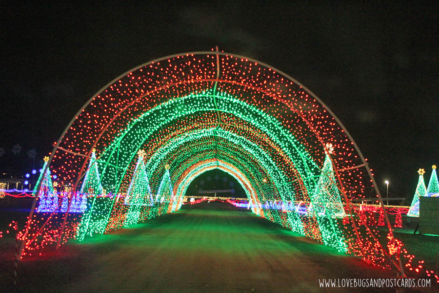 Christmas in Color in Kearns and Provo, Utah - Lovebugs and Postcards