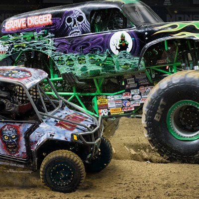 Monster Jam® Triple Threat Series™ presented by AMSOIL is coming to Salt Lake City, Utah January 6 & 7, 2017
