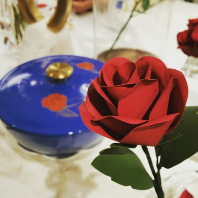 Beauty and the Beast experience at Williams Sonoma #BeOurGuestEvent