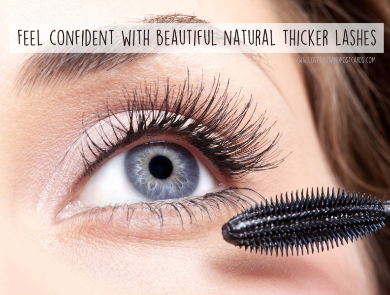 Feel confident with beautiful natural thicker lashes
