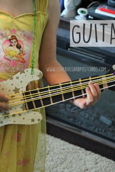 Rock Dog Guitar Craft + Giveaway