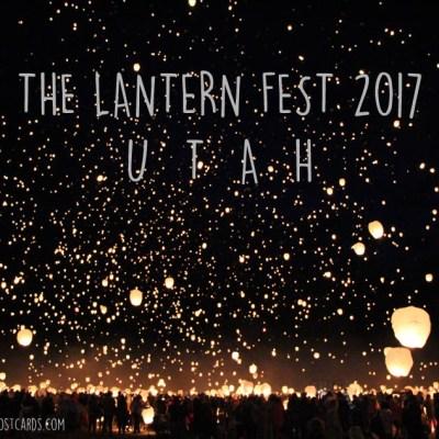 2017 Lantern Fest in Utah