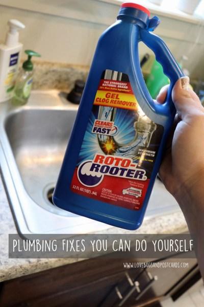 Plumbing Fixes You Can Do Yourself