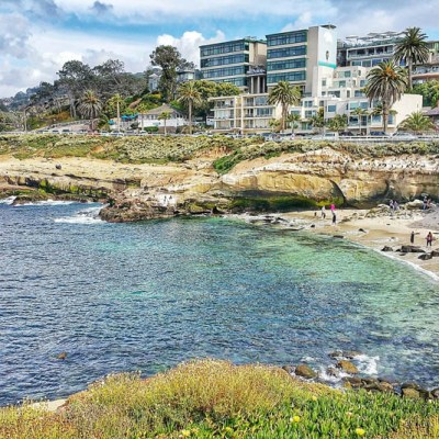 La Jolla Cove in San Diego