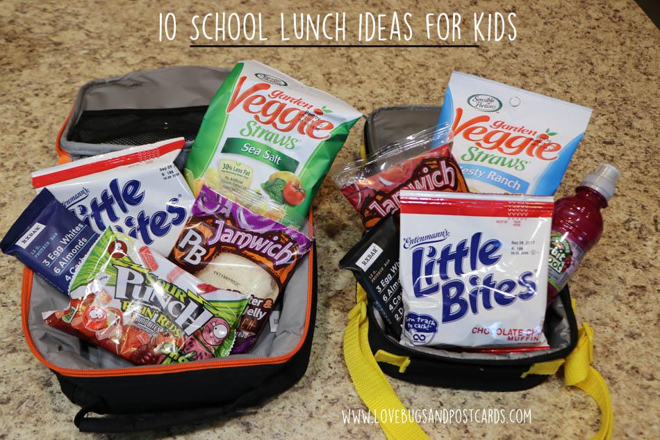10 School lunch ideas for kids