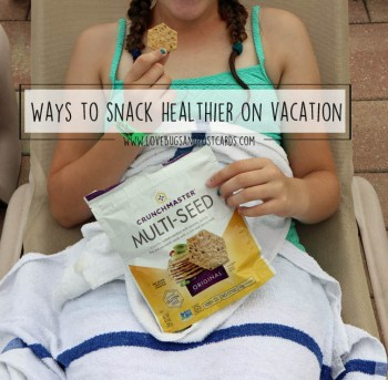 Ways to snack healthier on vacation