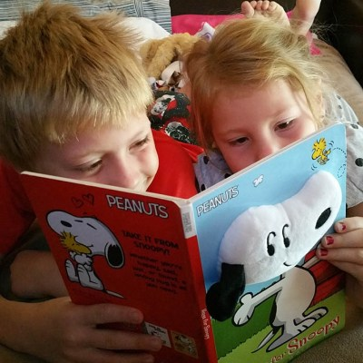 Take a break with Snoopy and the Peanuts gang with these fun books! {Giveaway}