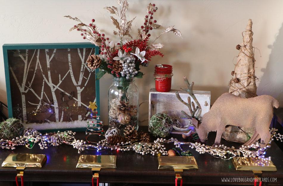 Simple And Elegant Christmas Decor Ideas Lovebugs And Postcards