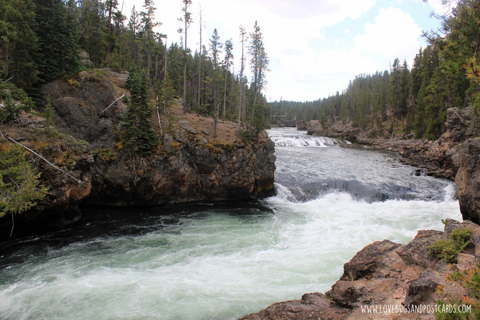 Grand Canyon of the Yellowstone - Yellowstone National Park
