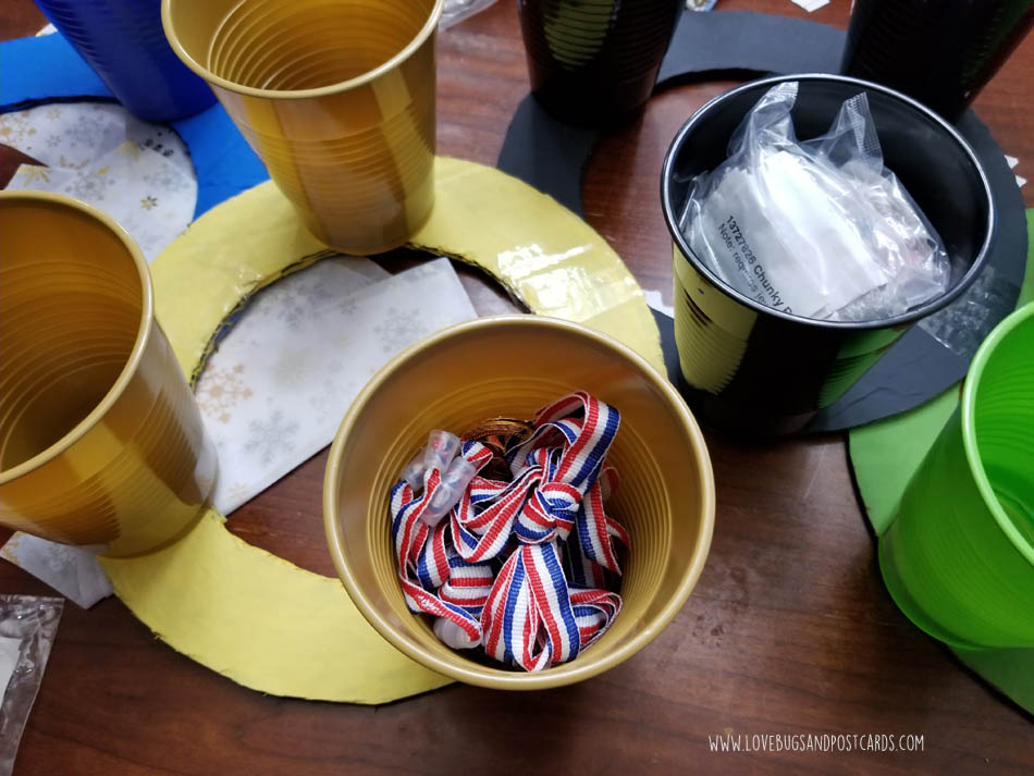 DIY Olympics Prize Punch Game