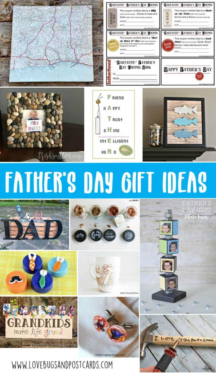 father s day gift ideas you can make yourself lovebugs and postcards