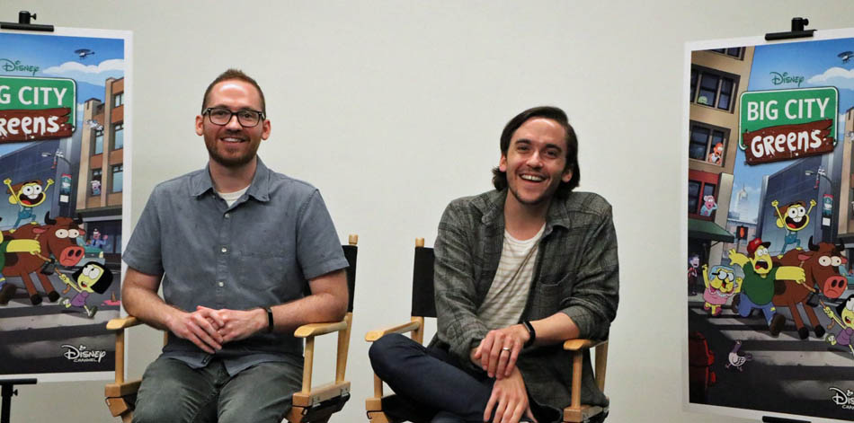Disney's Big City Greens Show Q&A with creators Chris and Shane Houghton