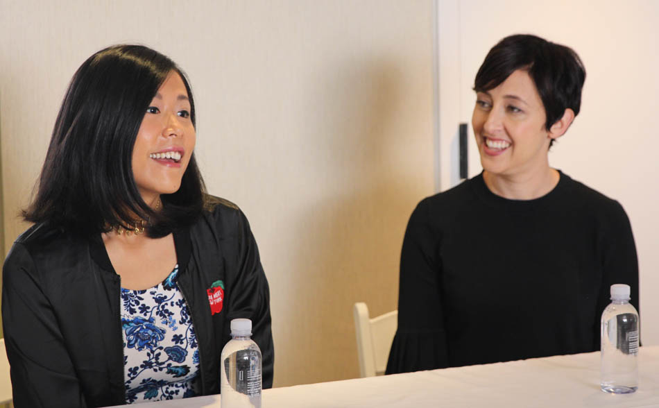 """Interview with """"Bao"""" Director Domee Shi & Producer Becky Neiman #Incredibles2Event"""