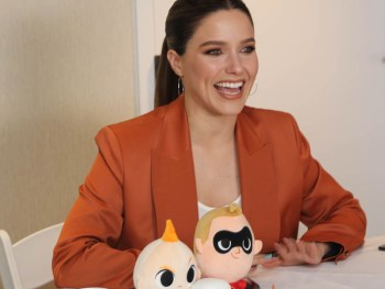 "Incredibles 2 Interview with Sophia Bush (voice of ""Voyd"") #Incredibles2Event"