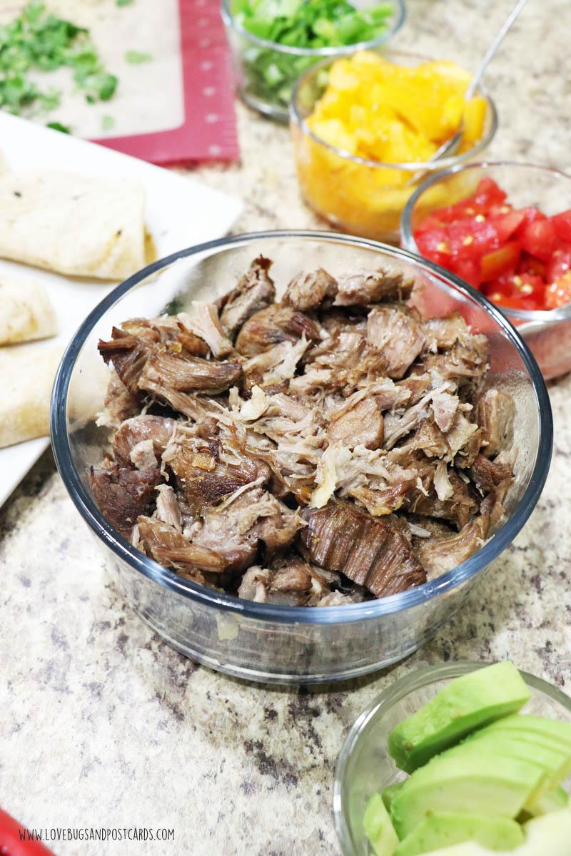 Pressure Cooker Pork Carnitas