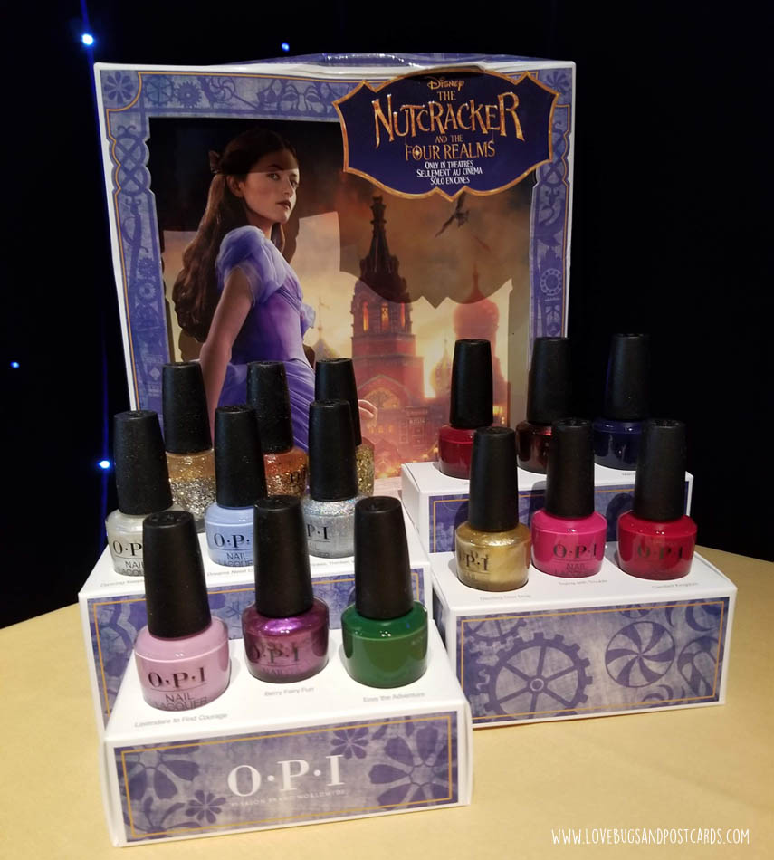 OPI Nutcracker Nail Colors