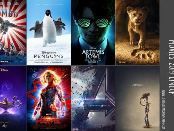 2019 Walt Disney Studios and Marvel Movies Lineup