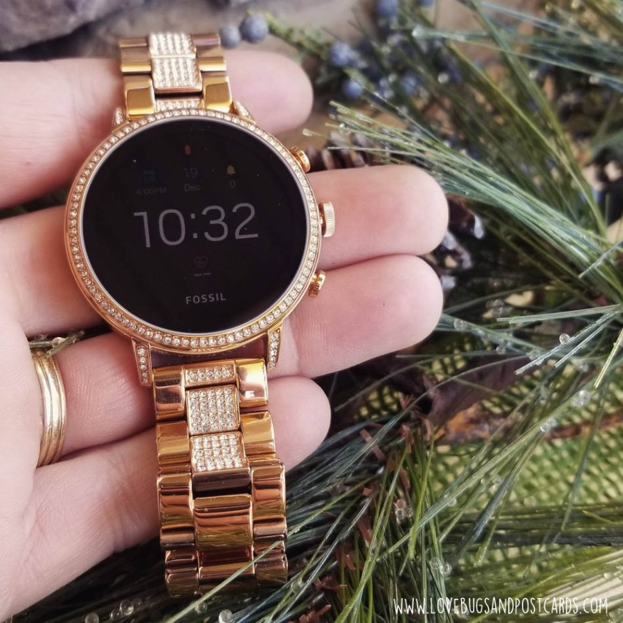 OS by Google: Fossil - Gen 4 Venture HR Smartwatch