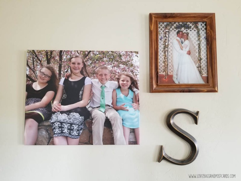 Customized wall decor with CanvasDiscount.com